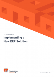 The Complete Guide to Implementing a New ERP Solution