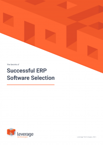 The Secrets of Successful ERP Software Selection